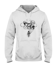 Astronaut Planet Solar Balloon Shirt Hooded Sweatshirt tile