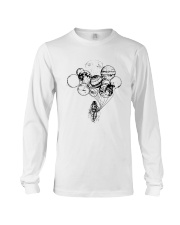 Astronaut Planet Solar Balloon Shirt Long Sleeve Tee tile