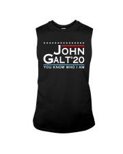 John Galt '20 You Know Who I Am Shirt Sleeveless Tee thumbnail