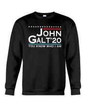 John Galt '20 You Know Who I Am Shirt Crewneck Sweatshirt thumbnail