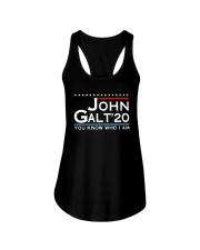 John Galt '20 You Know Who I Am Shirt Ladies Flowy Tank thumbnail