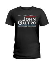 John Galt '20 You Know Who I Am Shirt Ladies T-Shirt thumbnail