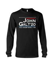 John Galt '20 You Know Who I Am Shirt Long Sleeve Tee thumbnail