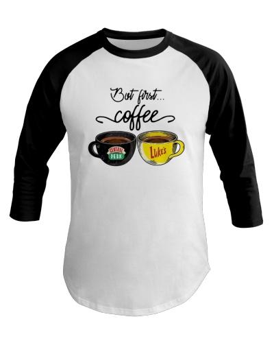 Official But First Coffee Central Perk Luke Shirt