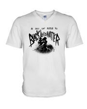 Tiger All Lives Cant Matter Till Black Lives Shirt V-Neck T-Shirt thumbnail