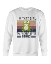 Vintage Im That Girl That Really Loves Frog Shirt Crewneck Sweatshirt thumbnail