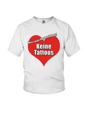 Weil Reine Haut Reinhaut Keine Tattoos Shirt Youth T-Shirt thumbnail