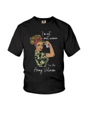 Im Not Most Women Im An Army Veteran Shirt Youth T-Shirt thumbnail