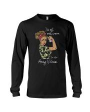 Im Not Most Women Im An Army Veteran Shirt Long Sleeve Tee thumbnail