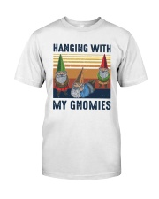 Vintage Hanging With My Gnomies Shirt Classic T-Shirt front