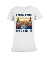 Vintage Hanging With My Gnomies Shirt Premium Fit Ladies Tee thumbnail