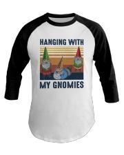 Vintage Hanging With My Gnomies Shirt Baseball Tee thumbnail