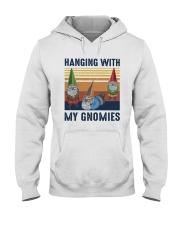 Vintage Hanging With My Gnomies Shirt Hooded Sweatshirt thumbnail