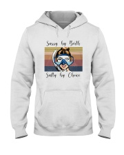 Vintage Diving Sassy By Birth Salty Choice Shirt Hooded Sweatshirt tile