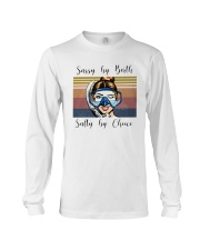 Vintage Diving Sassy By Birth Salty Choice Shirt Long Sleeve Tee tile