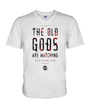The Old Gods Are Watching Draugablikk Shirt V-Neck T-Shirt thumbnail