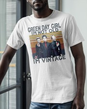 Green Day Girl Im Not Old Im Vintage Shirt Classic T-Shirt apparel-classic-tshirt-lifestyle-front-39