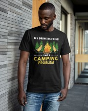 Beers My Drinking Friends Have A Camping Shirt Classic T-Shirt apparel-classic-tshirt-lifestyle-front-41-b