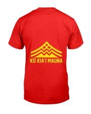 Official Ku Kiai Mauna Shirt Classic T-Shirt back
