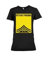Official Ku Kiai Mauna Shirt Premium Fit Ladies Tee thumbnail
