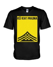 Official Ku Kiai Mauna Shirt V-Neck T-Shirt thumbnail