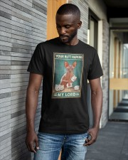 Cat Your Butt Napkins My Lord Shirt Classic T-Shirt apparel-classic-tshirt-lifestyle-front-41-b