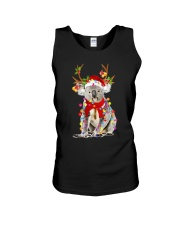Koala Reindeer Christmas Light Shirt Unisex Tank thumbnail