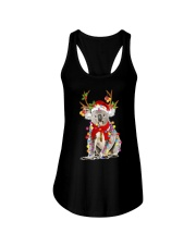 Koala Reindeer Christmas Light Shirt Ladies Flowy Tank tile