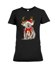 Koala Reindeer Christmas Light Shirt Premium Fit Ladies Tee tile