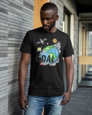 Earth Gdal 0 To 100 Done Shirt Classic T-Shirt apparel-classic-tshirt-lifestyle-front-41-b