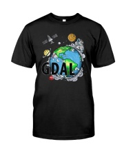 Earth Gdal 0 To 100 Done Shirt Classic T-Shirt front