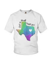 Heart Texas Just A Small Town Girl Shirt Youth T-Shirt tile