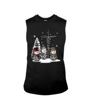 Faith Hope Love Snowman Christmas Jesus Shirt Sleeveless Tee thumbnail