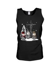 Faith Hope Love Snowman Christmas Jesus Shirt Unisex Tank thumbnail