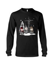 Faith Hope Love Snowman Christmas Jesus Shirt Long Sleeve Tee thumbnail