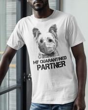 Yorkshire Terrier My Quarantine Partner Shirt Classic T-Shirt apparel-classic-tshirt-lifestyle-front-39