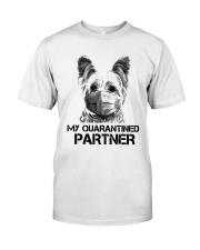 Yorkshire Terrier My Quarantine Partner Shirt Premium Fit Mens Tee thumbnail
