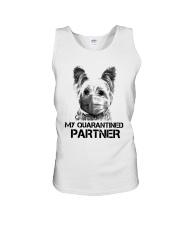 Yorkshire Terrier My Quarantine Partner Shirt Unisex Tank thumbnail