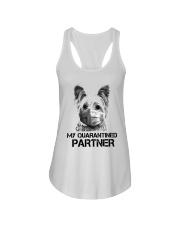 Yorkshire Terrier My Quarantine Partner Shirt Ladies Flowy Tank thumbnail