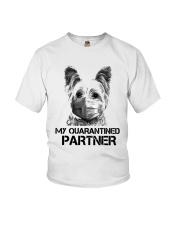 Yorkshire Terrier My Quarantine Partner Shirt Youth T-Shirt thumbnail