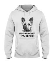 Yorkshire Terrier My Quarantine Partner Shirt Hooded Sweatshirt thumbnail
