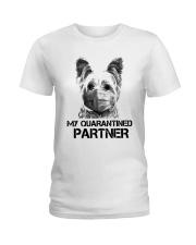 Yorkshire Terrier My Quarantine Partner Shirt Ladies T-Shirt thumbnail