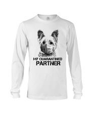 Yorkshire Terrier My Quarantine Partner Shirt Long Sleeve Tee thumbnail