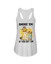 Honey Smoke Em If You Got Em Get The Shirt Ladies Flowy Tank thumbnail