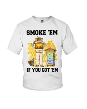 Honey Smoke Em If You Got Em Get The Shirt Youth T-Shirt thumbnail