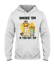 Honey Smoke Em If You Got Em Get The Shirt Hooded Sweatshirt thumbnail