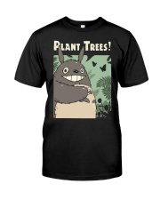 Totoro Plant Trees Shirt Classic T-Shirt front