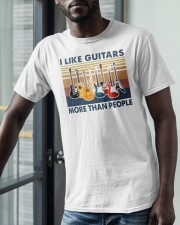Vintage I Like Guitars More Than People Shirt Classic T-Shirt apparel-classic-tshirt-lifestyle-front-39