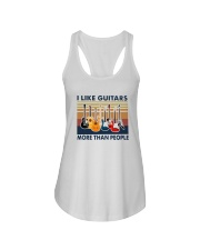 Vintage I Like Guitars More Than People Shirt Ladies Flowy Tank thumbnail