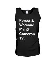 Man Woman Camera Tv T Shirt Unisex Tank thumbnail